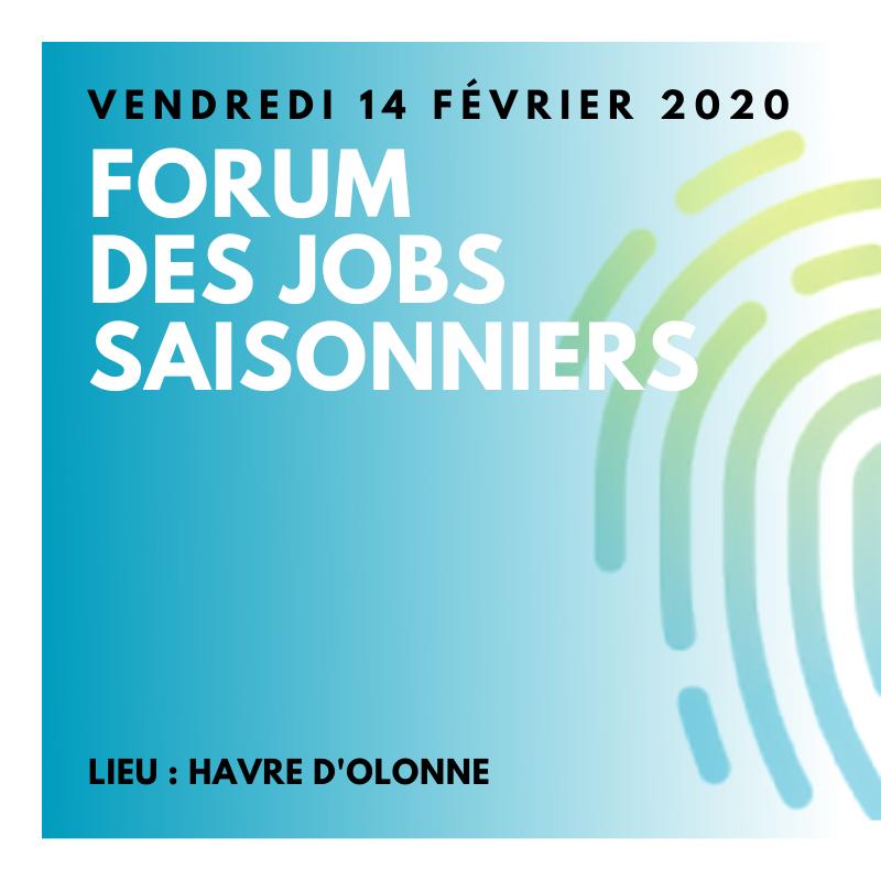 Havre d'Olonne, Forum des jobs Saisonniers, GE Vendée Littorale