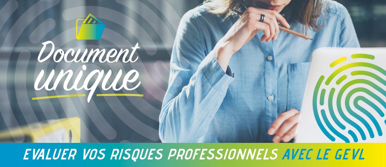 Document unique d'évaluation des risques professionnels avec le Groupement d'Employeurs Vendée Littorale