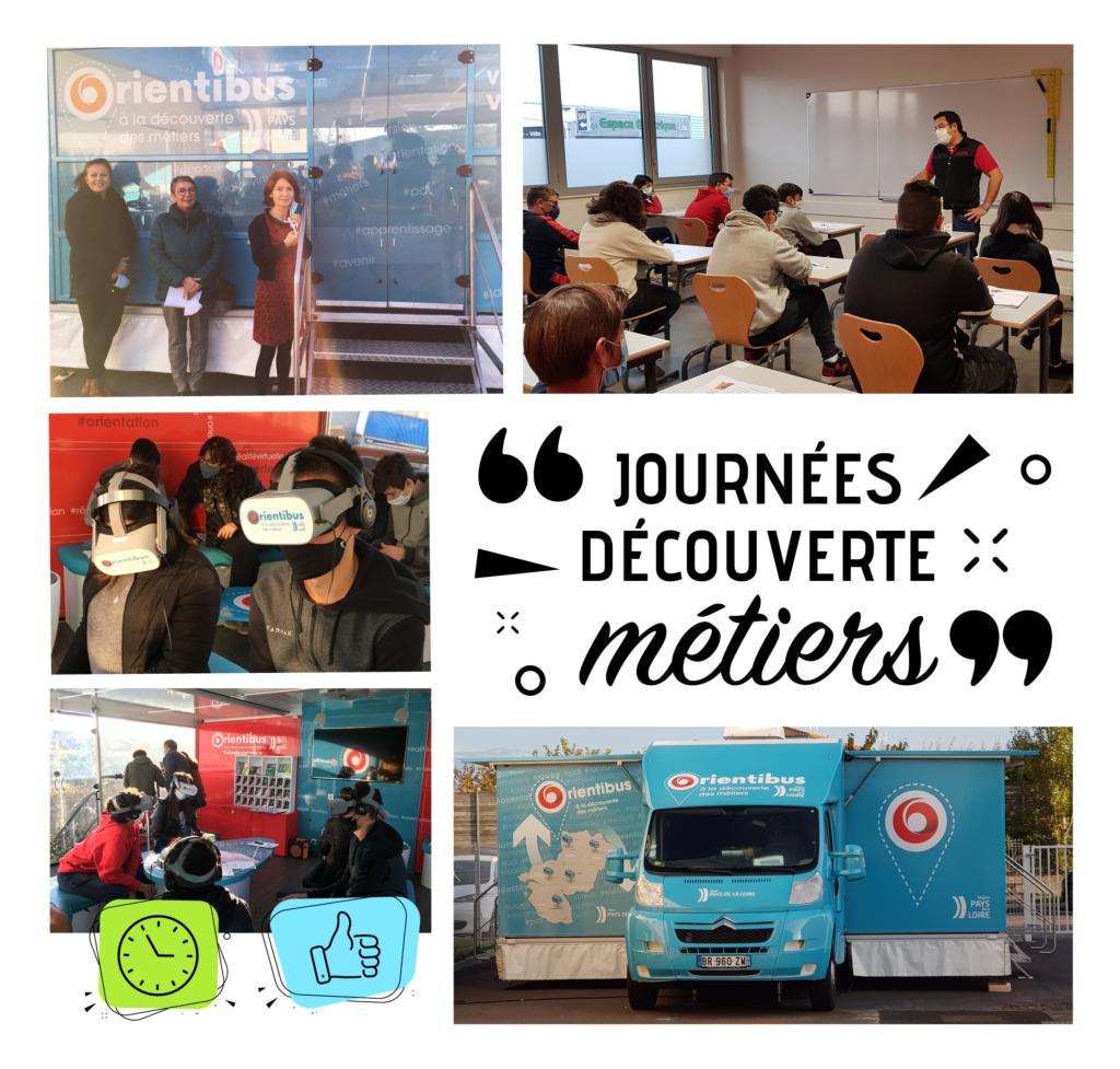 Journées découverte pour l'emploi, la formation et l'orientation en Vendée, les 15 et 16 octobre pour les élèves des collèges Paul Langevin et Jean Monnet aux Sables d'Olonne