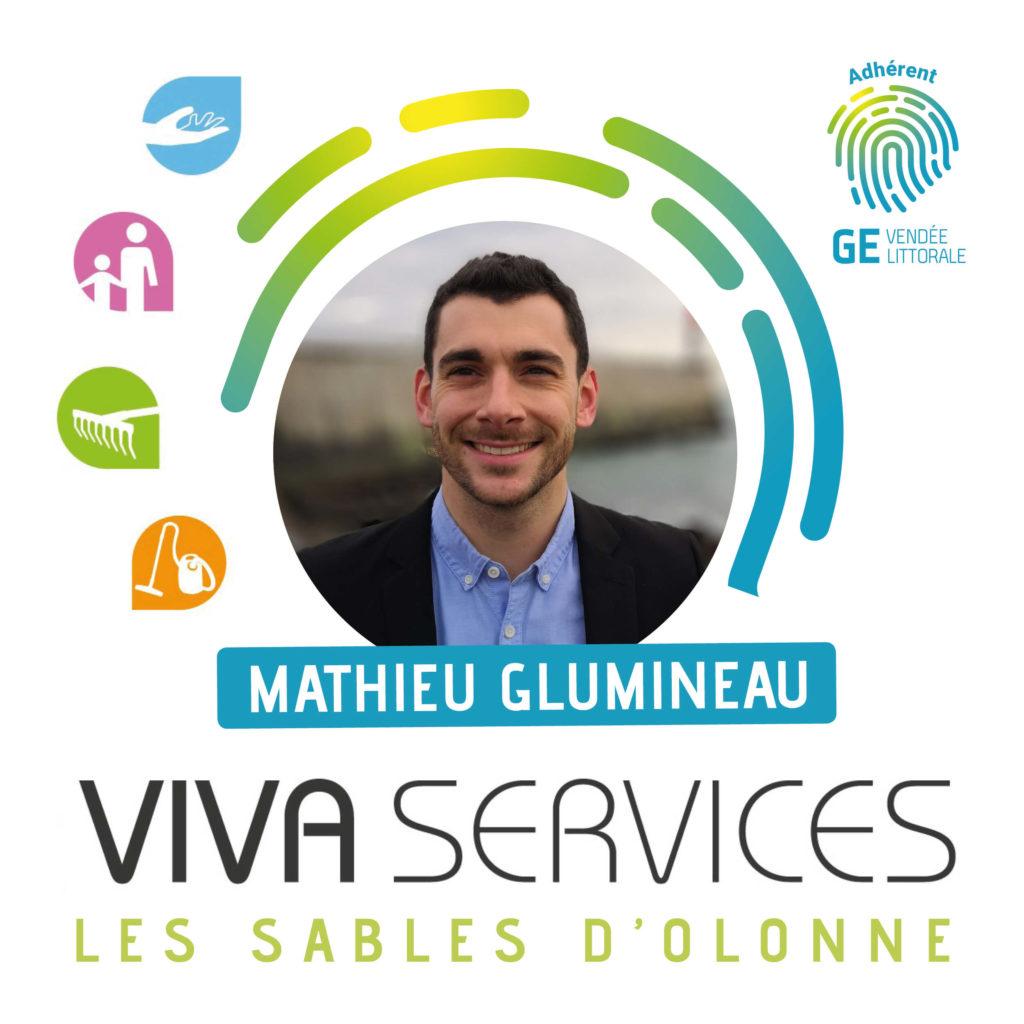 Interview de Mathieu Glumineau de Vivaservices - Entreprise adhérente du GE Vendée Littorale
