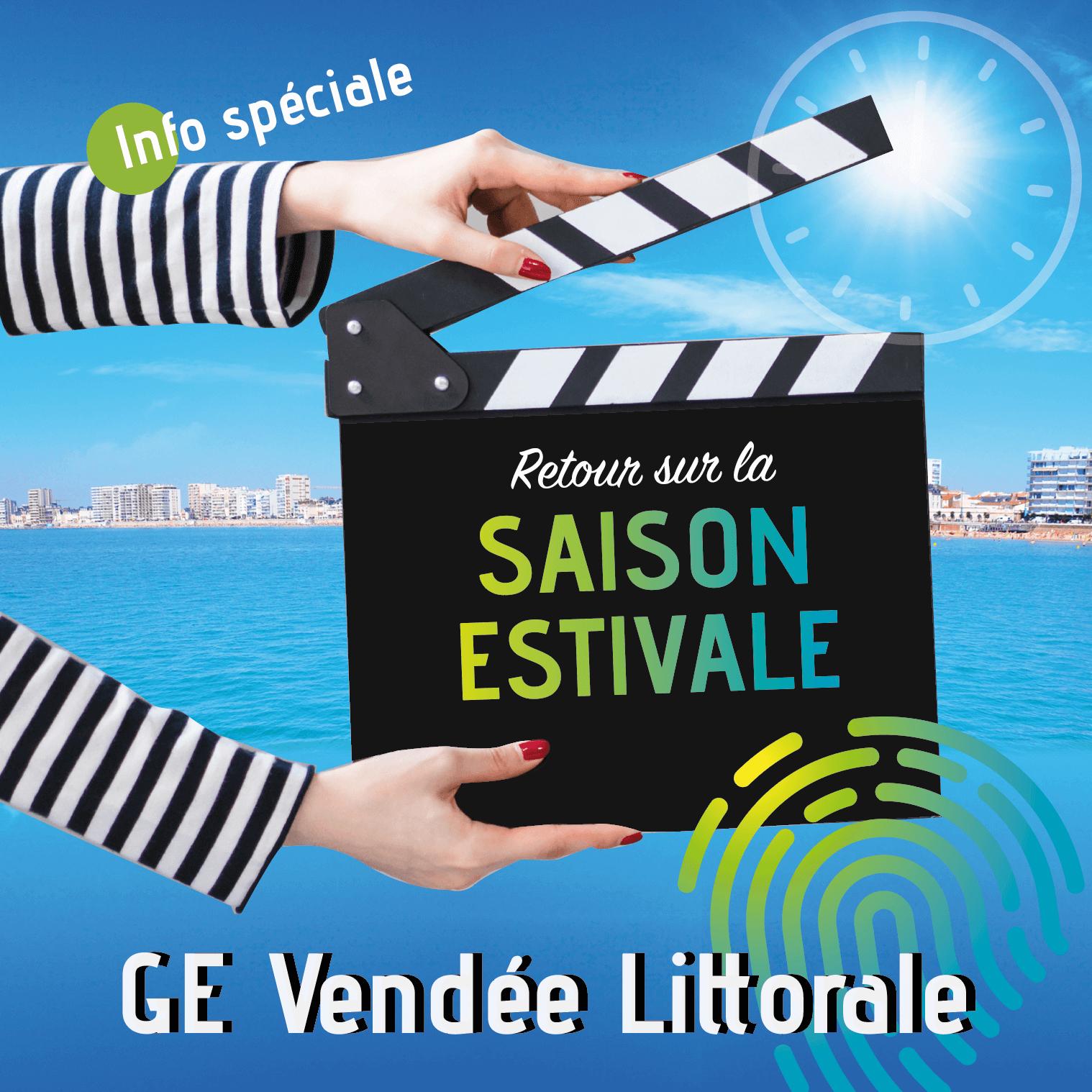 Retour sur la saison estivale, témoignages de Sarah, Capucine et Peggy, salarié du GE Vendée Littorale